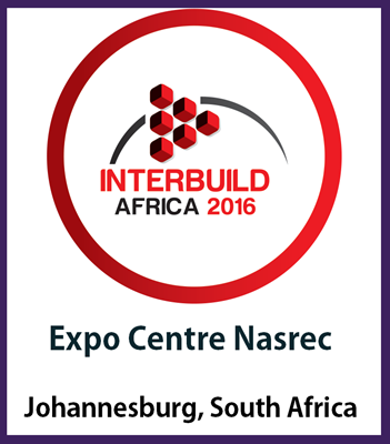 Inter Build Africa 2016- South Africa